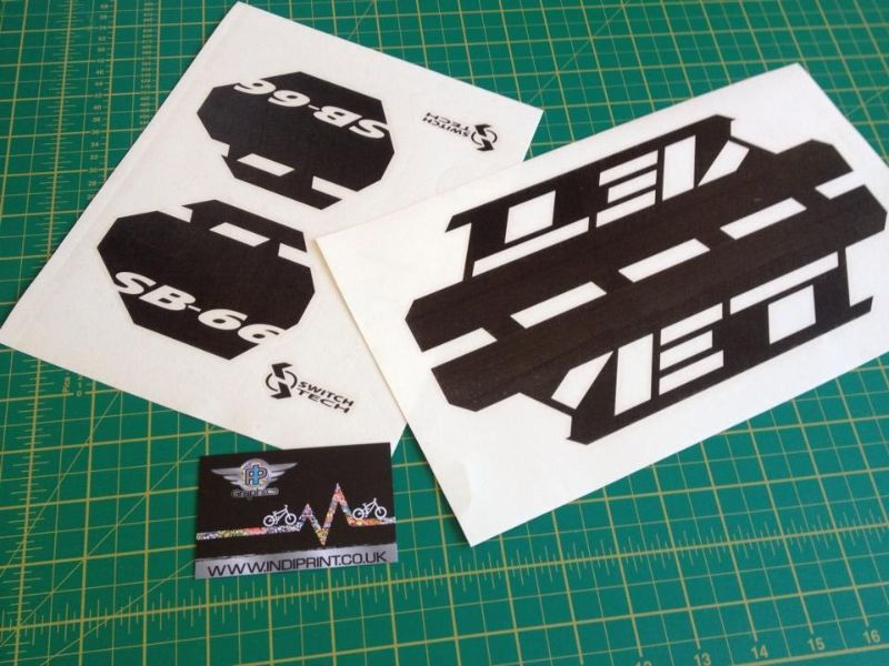 Yeti Sb 66 Decal Kit